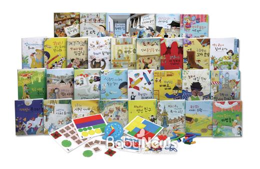 ㈜대교(대표이사 조영완)의 전집브랜드 소빅스는 스토리텔링을 통해 자연스럽게 수학 개념을 배울 수 있는 신제품 '수학아이'를 출시했다. ⓒ대교