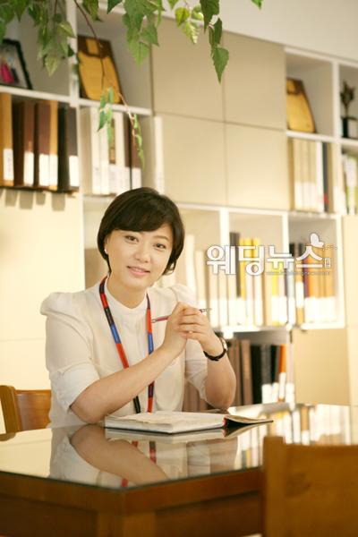 지난달 27일 OK웨딩 인천센터에서 만난 김은영 웨딩플래너는 웨딩플래너가 갖춰야 할 덕목으로 '책임'과 '신뢰'를 꼽았다. ⓒOK웨딩