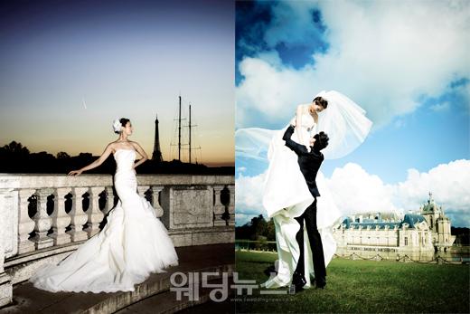 허니문 웨딩 촬영은 신혼여행과 웨딩 촬영을 함께 할 수 있어 특별한 추억을 만들 수 있다. ⓒ아일랜드 테이크