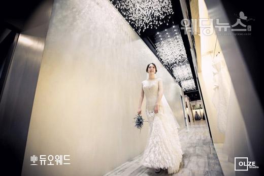 엄지인 아나운서는 현재 KBS1TV '우리말 겨루기' 등 프로그램에서 진행을 맡고 있다.ⓒ듀오웨드