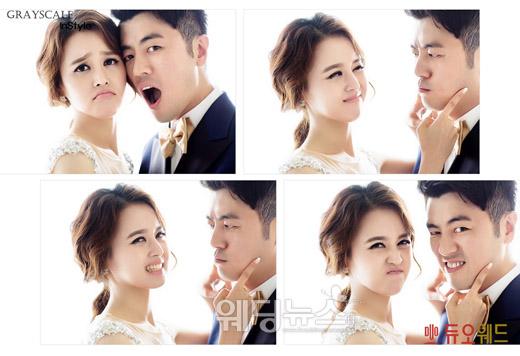 오는 9월 결혼하는 가수 겸 작곡가 심현보의 웨딩 사진이 공개됐다. ⓒ듀오웨드