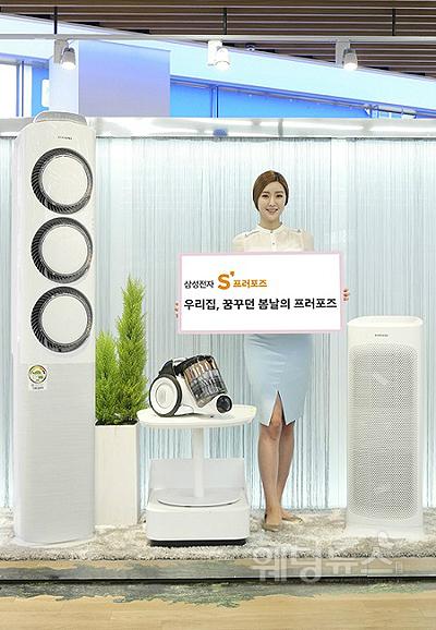 삼성전자가 오는 5월 10일까지 봄맞이 이벤트를 진행한다. ⓒ삼성전자
