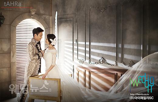 오는 8월 8일 낮 12시 서울 광진구 광장동 워커힐호텔 비스타홀에서 결혼하는 박현빈의 웨딩사진이 공개됐다. ⓒ아이패밀리SC