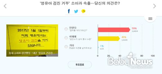 소아과 '영유아 검진' 거부 사태에 부모 발 '동동'