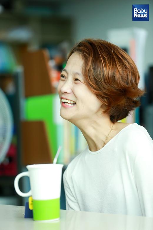 김민정 씨 부부를 지난 9월 15일새벽지기장애인자립생활센터서 만났다. 최대성 기자 ⓒ베이비뉴스