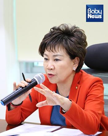 국회 보건복지위원회 소속 김순례 자유한국당 의원. ⓒ김순례 의원실